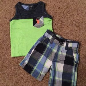 U.S. Polo tank top set
